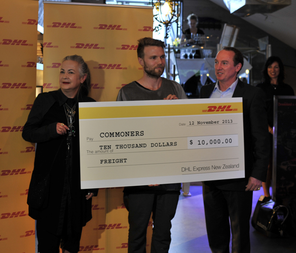 commoners-dhl -cheque