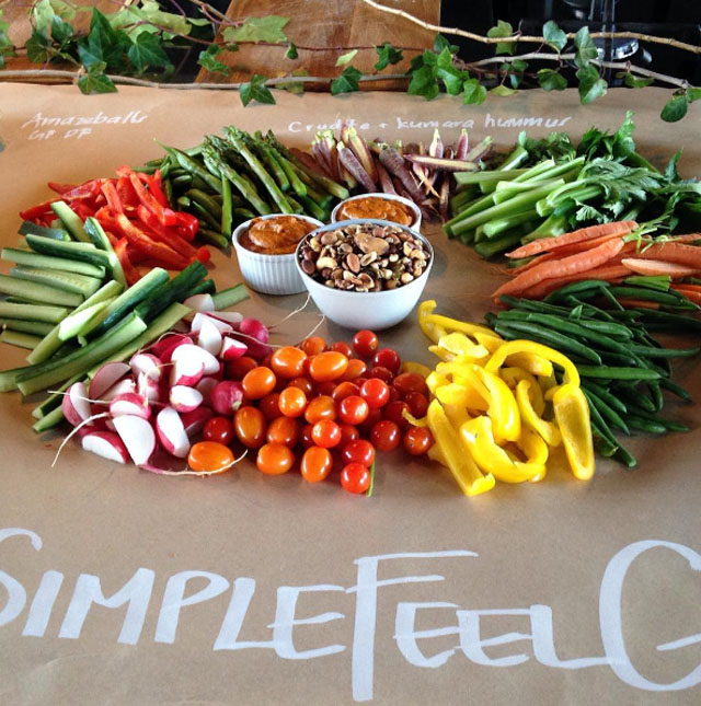 simple feel good vegetables