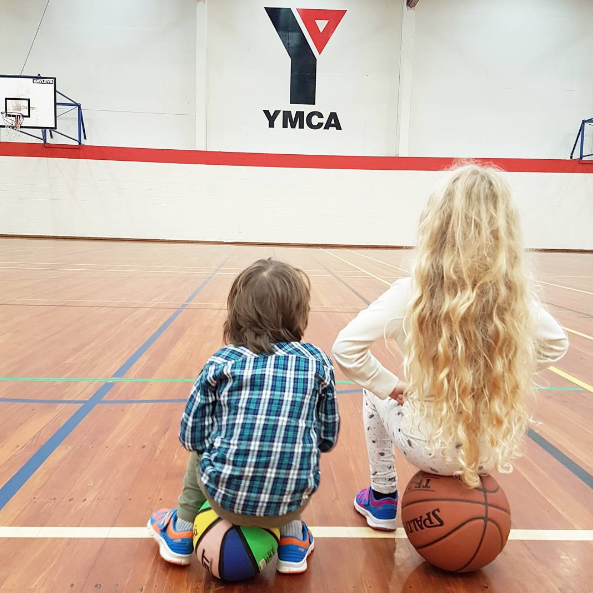 Really enjoying Basketball Academy at YMCA, they do dribbling, games, exercises and shooting practice, it's really cool. My daughter's the only girl amongst 14 or so boys!