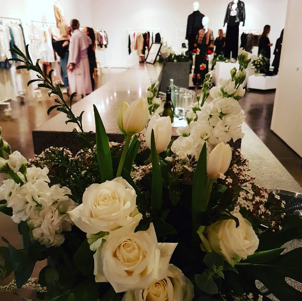 Here at Bath St Gallery in Parnell Auckland for the fashion preview on H&M