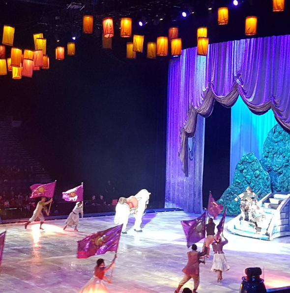 Loving Tangled at Disney On Ice