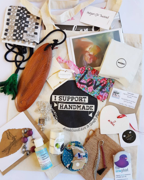 Incredible haul from Auckland Fair at Shed 10 today. I will be posting more featuring these talented artists and jewellers later, but here's a shot of the variety of things at the art & craft fair!