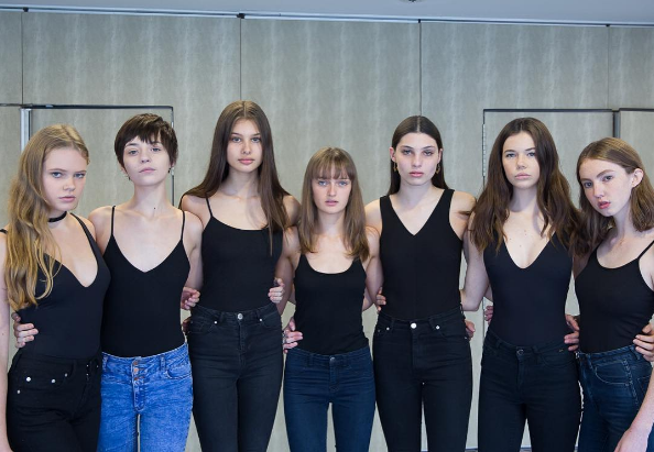 Kicking off @nzfashionwk at the model castings this morning. Models pictured from @62models. Photo by Anumpam Singh www.instagram.com/annupam