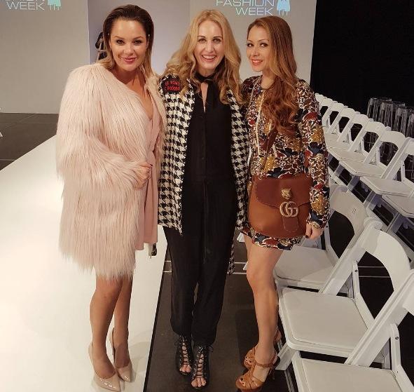 Lulu Wilcox, Megan Robinson, Michiko Hylands.