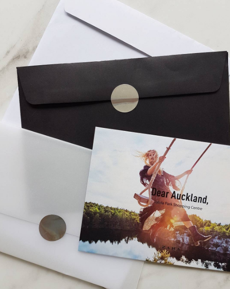 The ZARA Auckland store opening invite