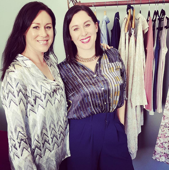 Sisters Rachel and Tamara have started ESALARE online sleepwear and loungewear
