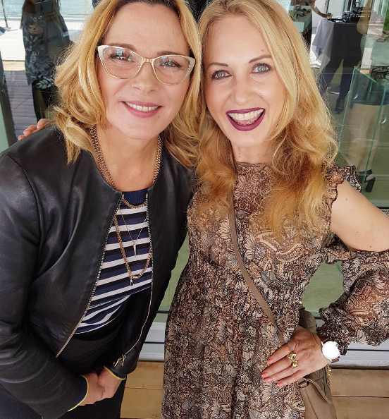 Kim Cattrall- Samantha of Sex and the City- at Specsavers