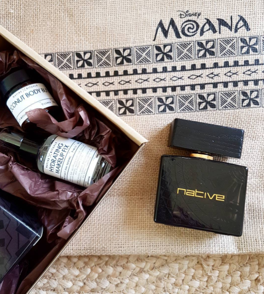 Native Rituals is a New Zealand skincare company and were the fragrance and skincare partners for Disney Moana premiere