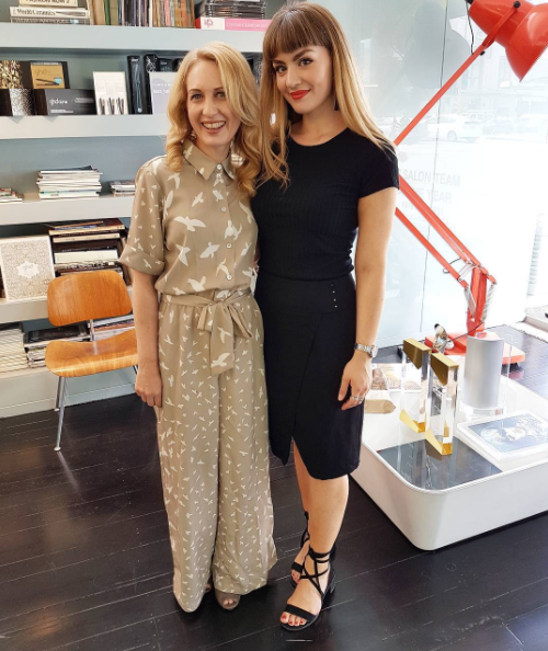 hairstylist Sarah Ashley Morris at Blaze salon Newmarket