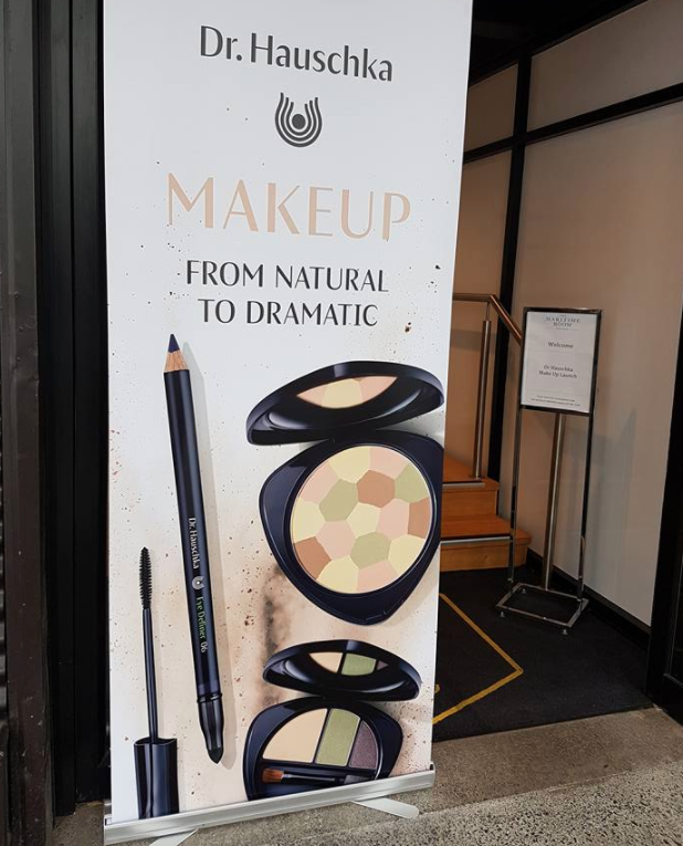 Dr Hauschka makeup sign