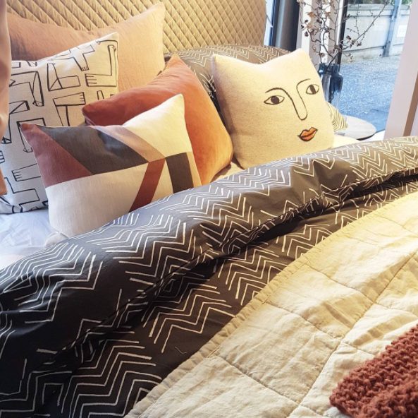 Gorgeous homewares and bedding at today's media showcase of the new season at Citta. Did you know it's pronounced cheetah? Fun fact!