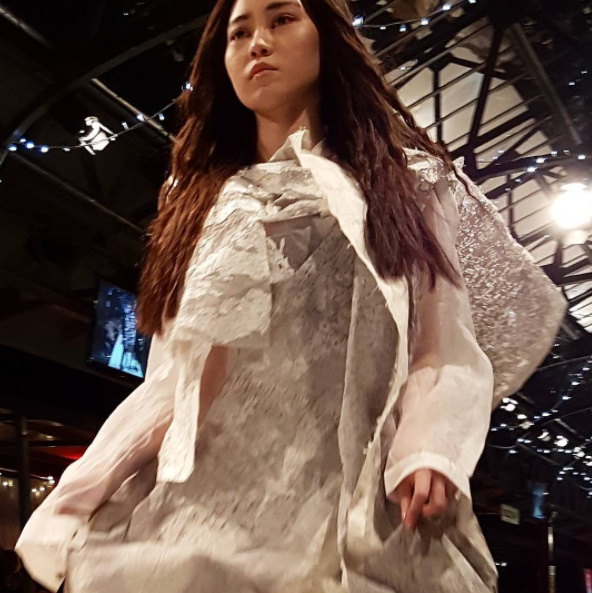 Winner of iD Emerging Designer Awards 2017, Nehma Vitols. Read about the iD 2017 winners here on ThreadNZ.