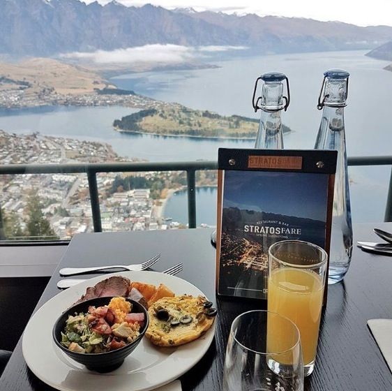 Mother's day lunch on top of the world at Skyline Queenstown