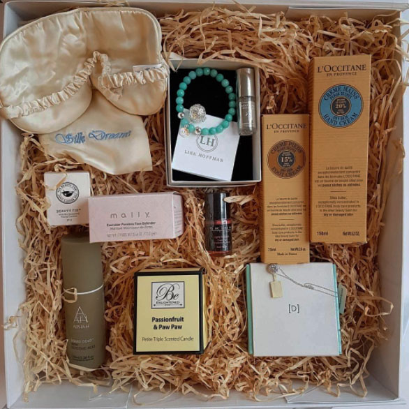 TVSN including everything you need to spoil mum such as Silk Dreams eye mask, Be Enlightened soy candle, Alpha H skincare, Lisa Hoffman and Diamondesque jewellery, Beauty Fix, L'Occitane, and Skinn makeup