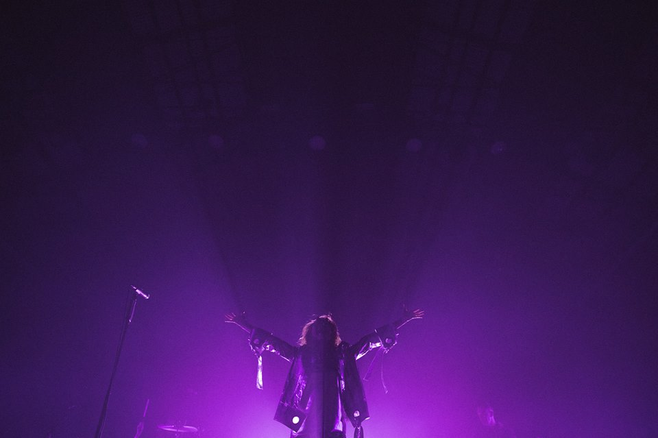 Goldfrapp, Carriageworks, 2 June 2017, Photography by Daniel Boud.