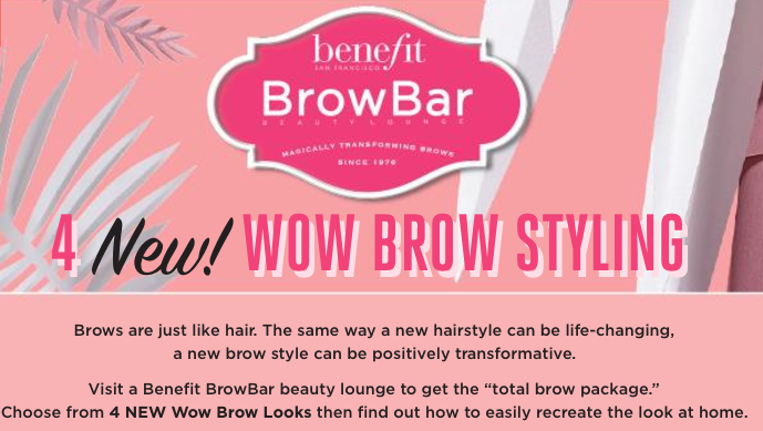 Benefit launches 4 Brow Styles you need to try NOW