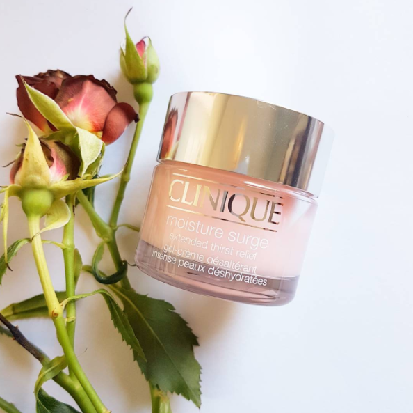Skin need a surge of moisture? I know mine does. Clinique Moisture Surge is formulated to quench thirsty skin. You're a tall glass of water, Clinique.