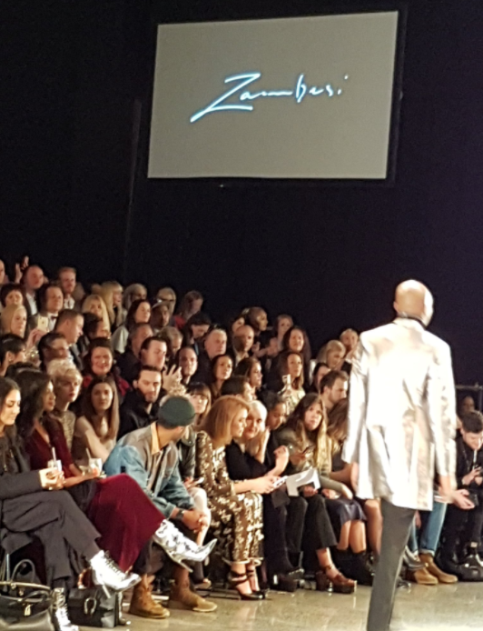 Dazzled by silver boots on Real Housewives of Auckland and on the catwalk at Zambesi