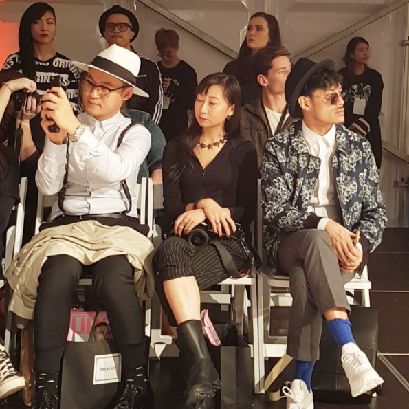 Front row style at NZ Fashion Week.