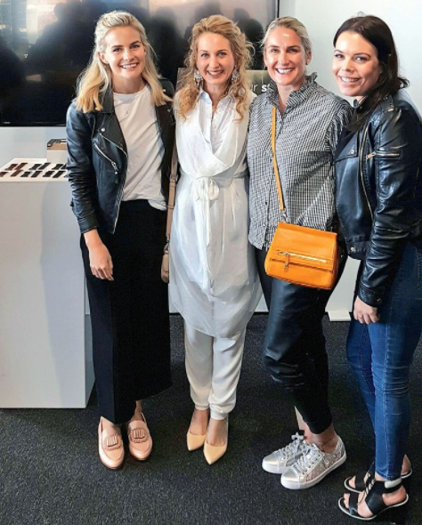With these babes at Fitbit ionic smartwatch launch today at GridAKL- Matilda Rice, Melissa Jack and Hannah Rogers