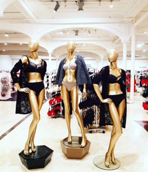 Amazing!! Marlies Dekkers lingerie at Smith and Caughey's