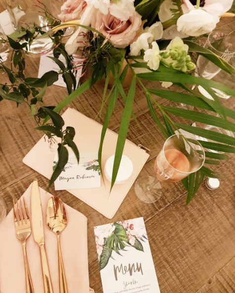 At an absolutely beautiful French dinner with Eau Thermale Avene and Perrier Jouët launching Avène Hydrance Cream-in Gel.