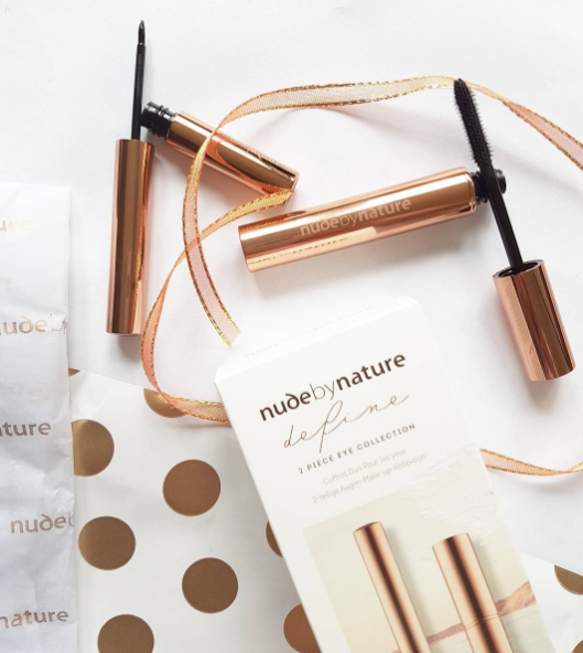 Gorgeousness in rose gold- the limited edition gift sets from Nude By Nature.
