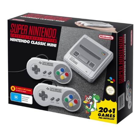 Nintendo recently released a commemorative SNES game console