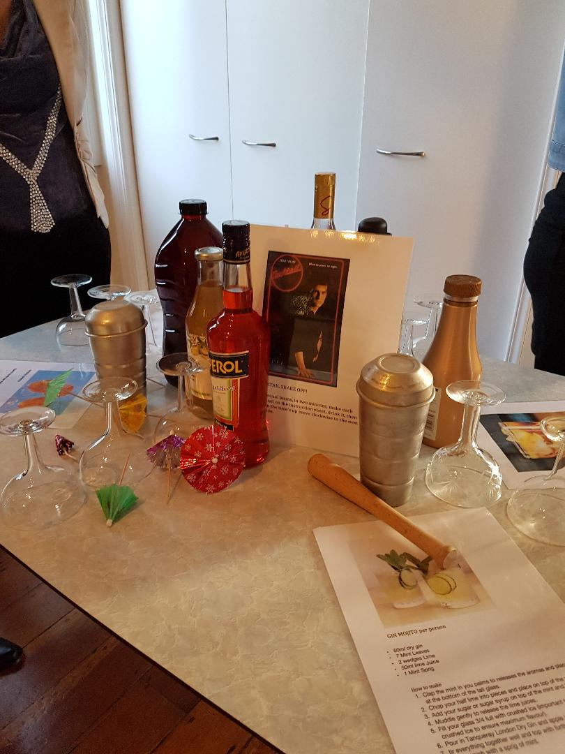 cocktail making contest
