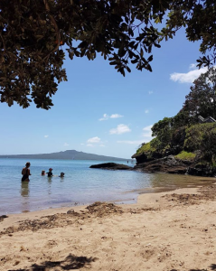 You don't have to go far to have a holiday when Auckland puts on a day like today. - thread